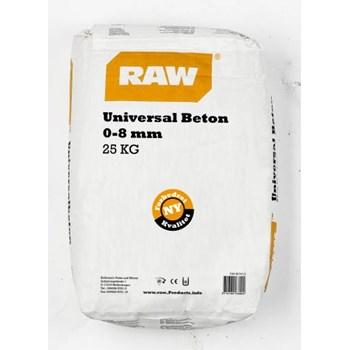 RAW  Universal Tørbeton 0-8 mm