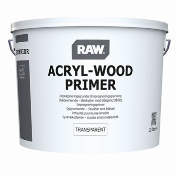 RAW Wood Primer Transparent