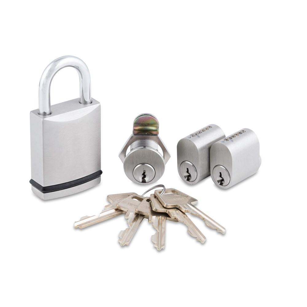 RAPTOR Cylindersæt med Hængelås og Postkasselås