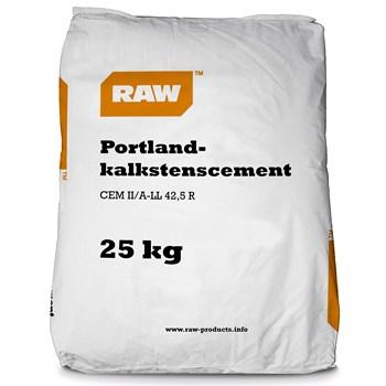 RAW Portland Kalkstenscement CEM II 42,5 R