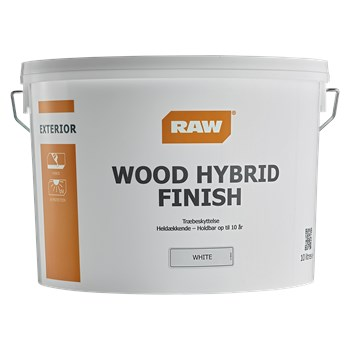 RAW Wood Hybrid Finish