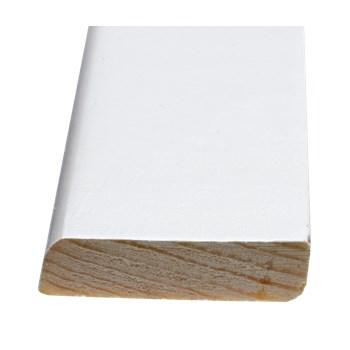 RAW Forkantliste Nr. 32-35 Fyr Hvid med 1 Rund Kant