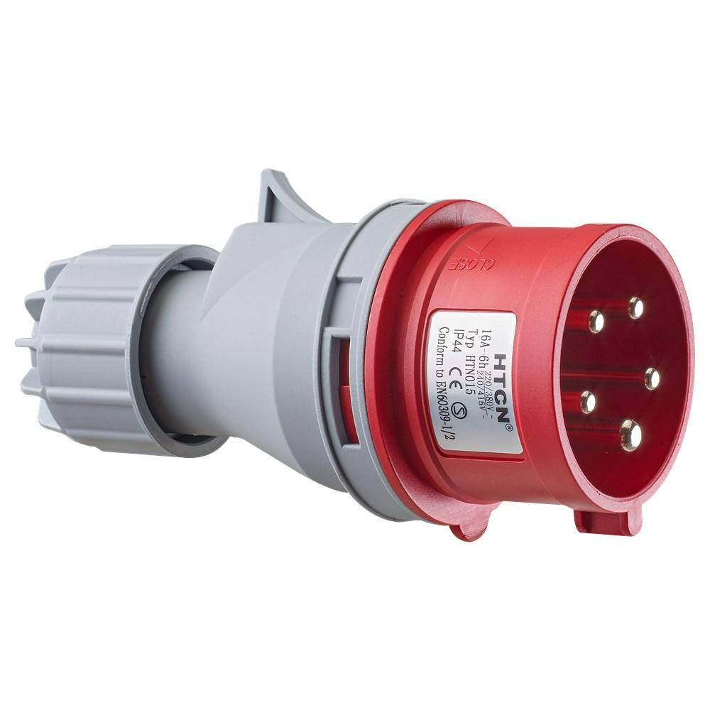 RAPTOR CEE Stikprop 400V 16A 3P+0+J fasevender