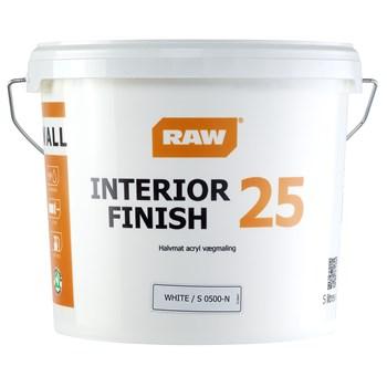 RAW Interiør Finish 25 Vægmaling
