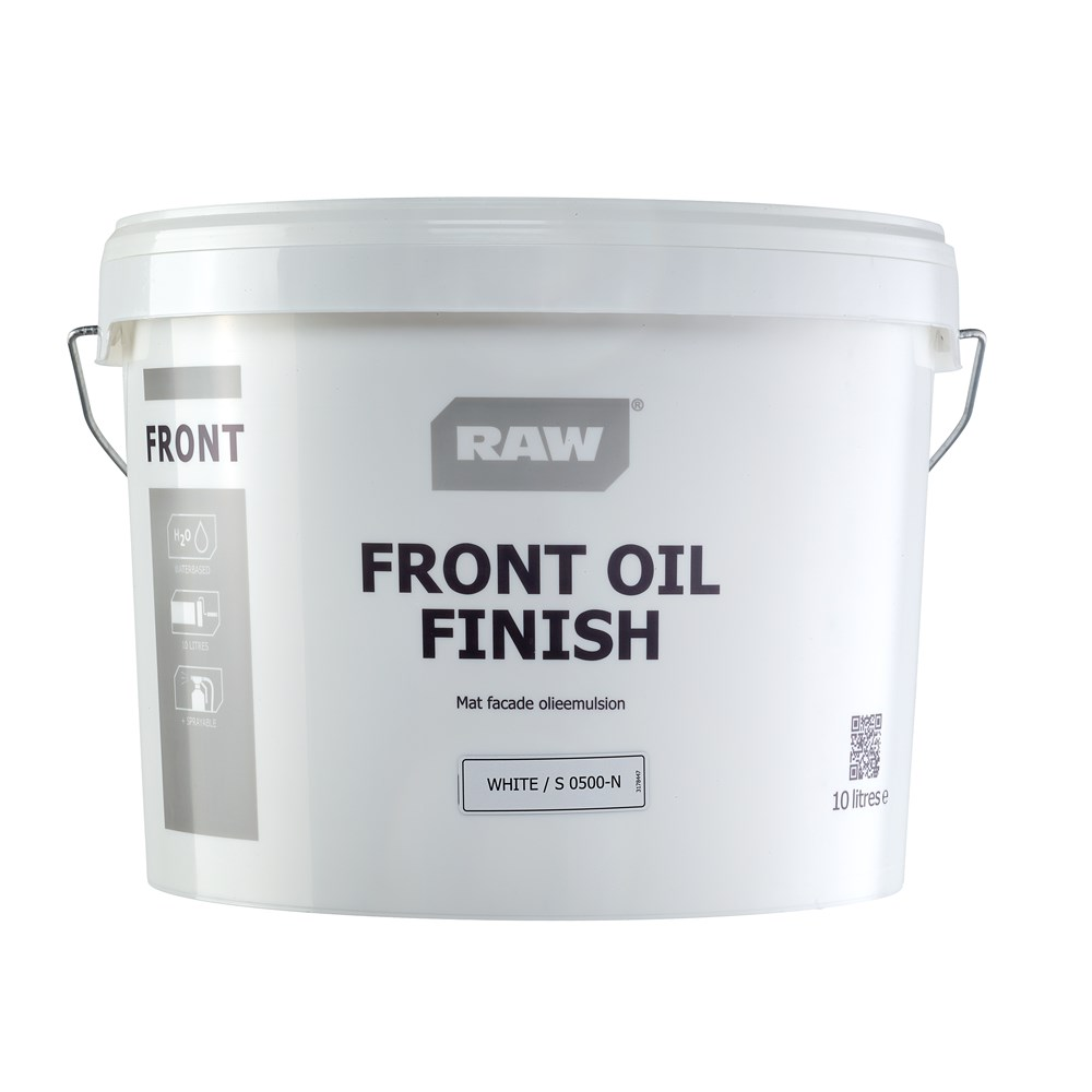 RAW Front Oil Finish Facademaling