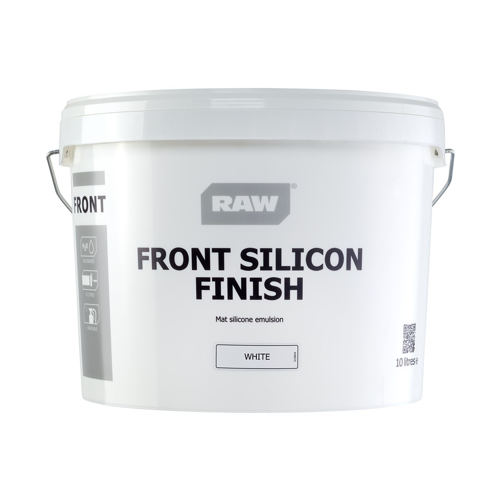 RAW Front Silikon Finish Facademaling