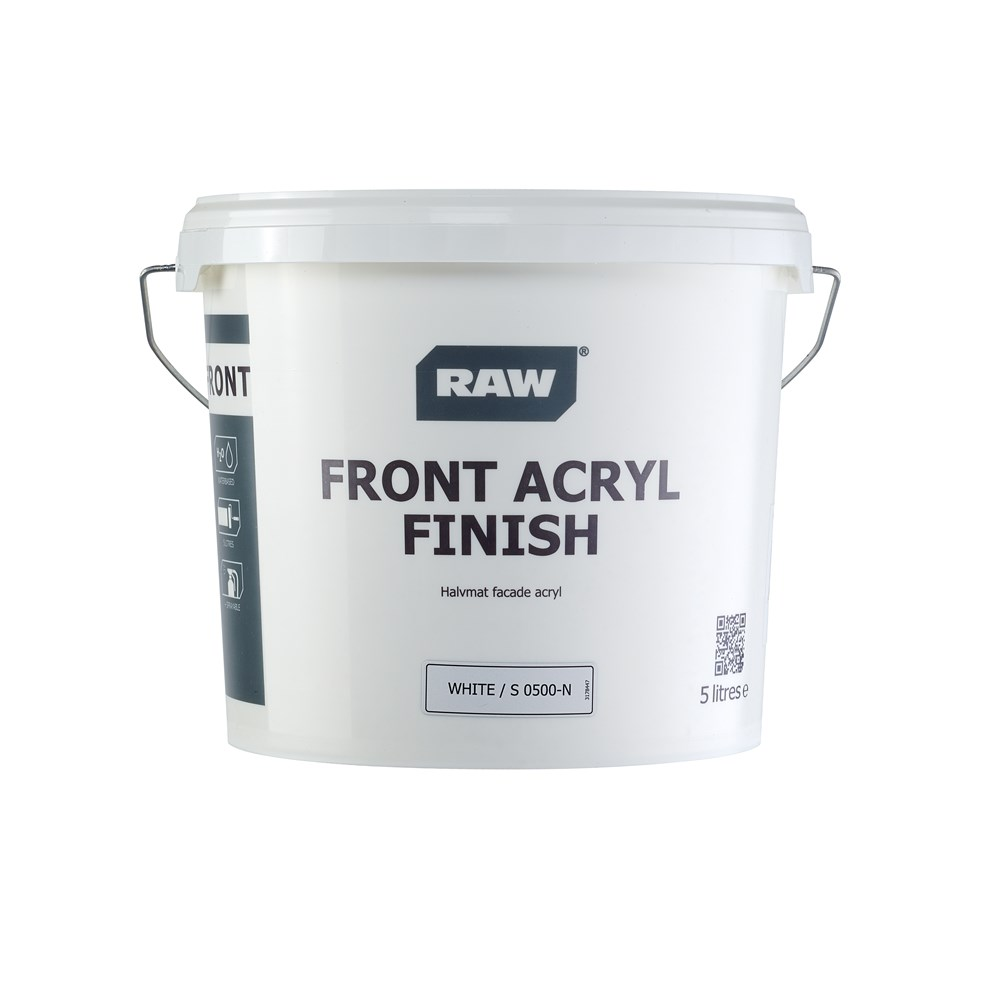 RAW Front Acryl Finish Facademaling