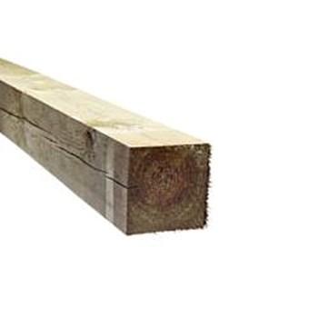 RAW Stolpe Trykimprægneret 125x125 mm