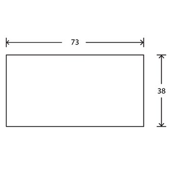 RAW Taglægter C18 BDT 38x73 mm