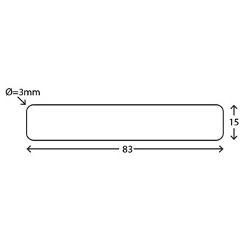 RAW Fyr Profil Høvlet 4 sider 19x100 mm