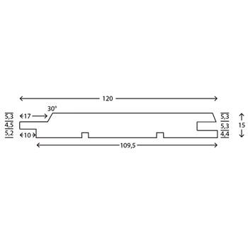 RAW Fyr Profil 4019 TGV uden endenot 19x125 mm