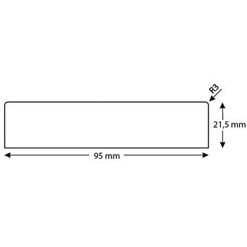 RAW Høvlet Forskalling 22x100 mm
