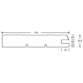 RAW Gran Stern Over 25x125 mm Antracit