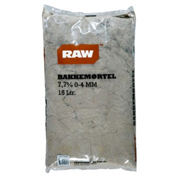 RAW Bakkemørtel 7,7% 0-4 mm