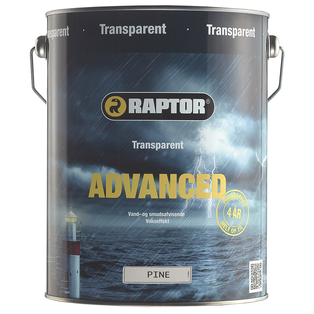 RAPTOR Advanced Træbeskyttelse Transparent 5 l