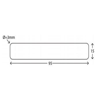 RAW Gran U/S Høvlet 4-sider Grundmalet 3 sider 19x100 mm
