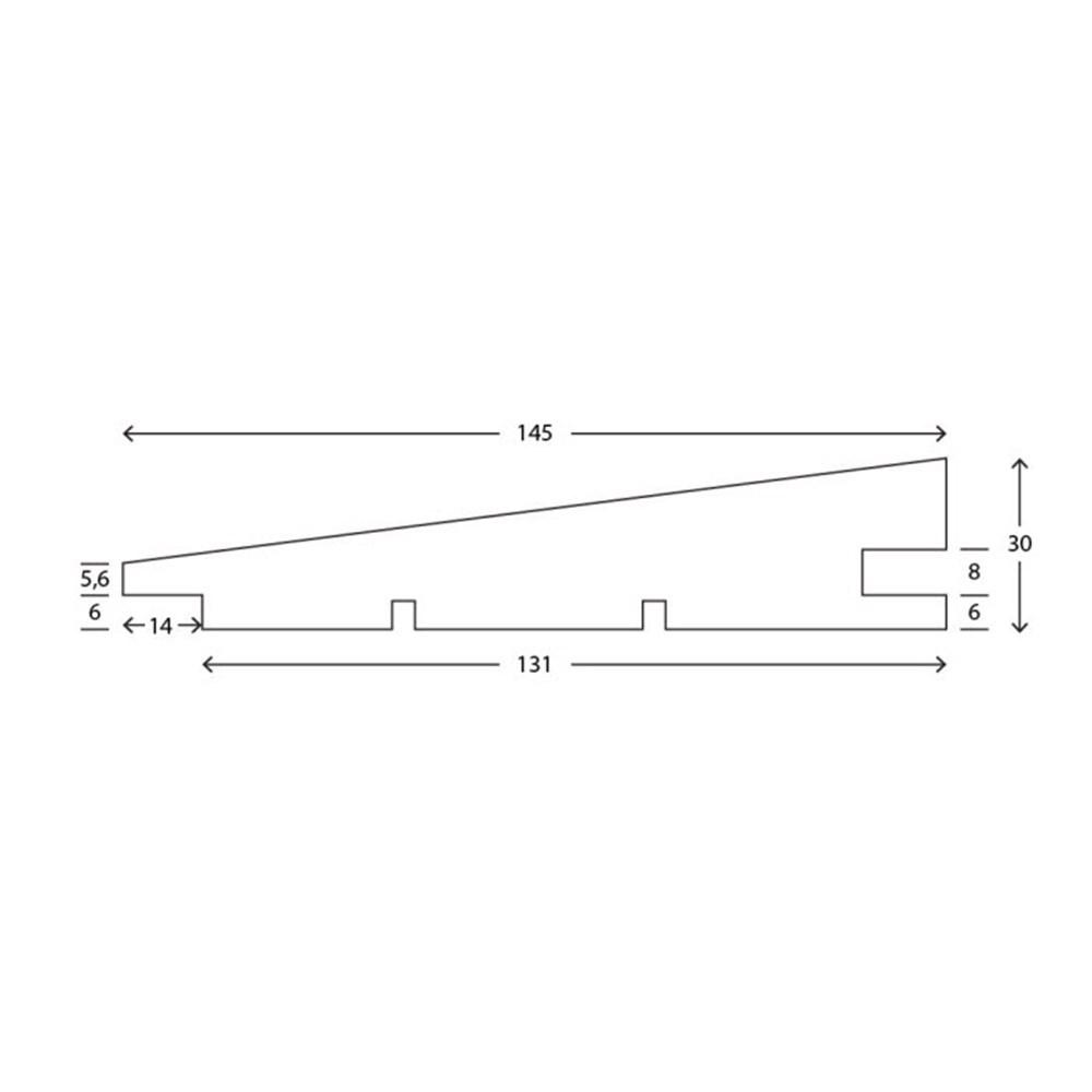 RAW Gran Klink Prof. 32x150 mm Sort