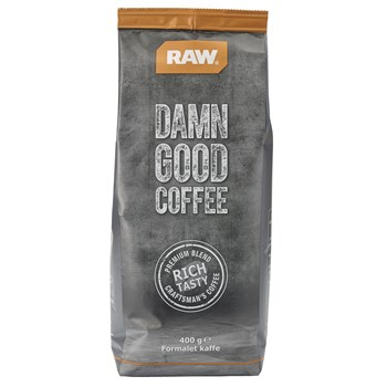 RAW Kaffe 400 gram/pose