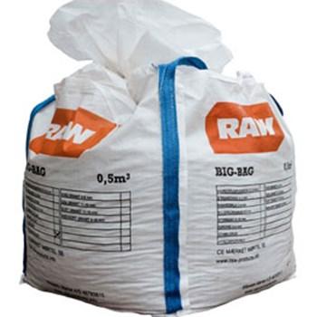 RAW Strandsand 0-4 mm. i Bigbag a 500 l